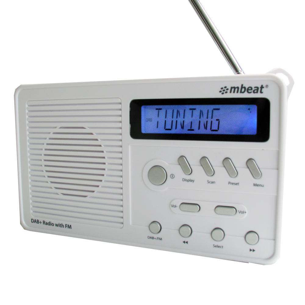 meat® desktop DAB+ and FM Radio with Dynamic Range Controls