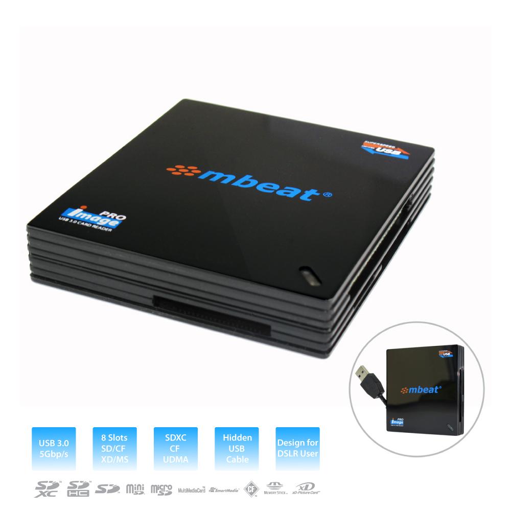 mbeat® USB 3.0 super speed multiple card reader