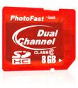 PhotoFast Dual Channel 150X SD Card-8GB