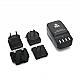 mbeat® Gorillia Power 34W 4 Port USB travel charger (US/UK/EU/AU)